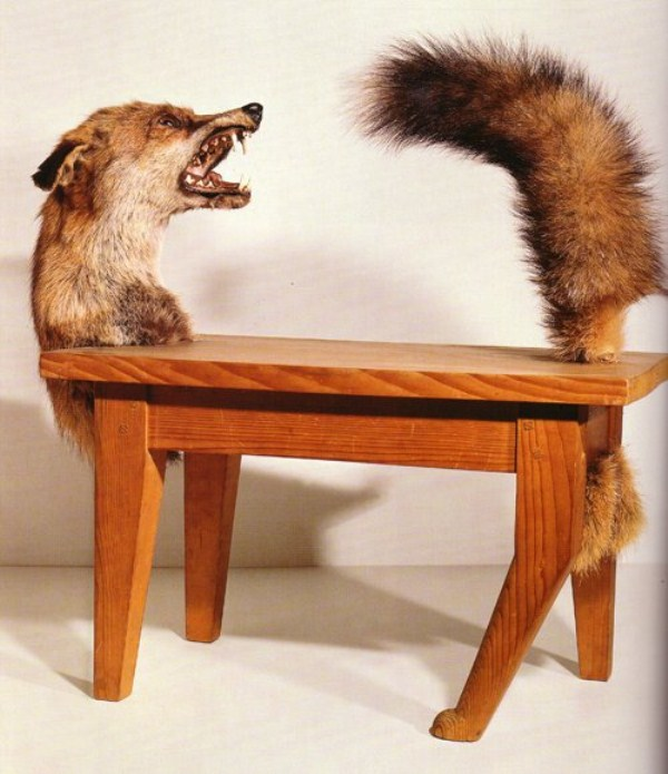 Animal themed furniture 49 photos klyker com - Victor brauner loup table ...