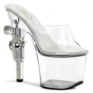 Smoking Hot Shoes with Gun Barrel Heels (12 photos) 8