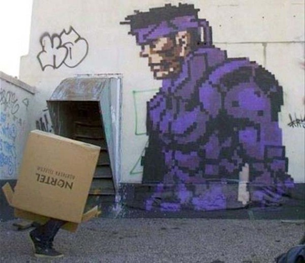 Awesome Graffiti Inspired by Video Games (37 photos) 9
