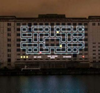 Officially the Biggest Pacman Game in the World (5 photos)