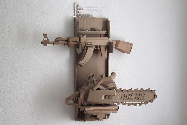 Cardboard Sculptures (1)