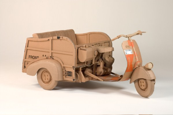 Cardboard Sculptures (17)