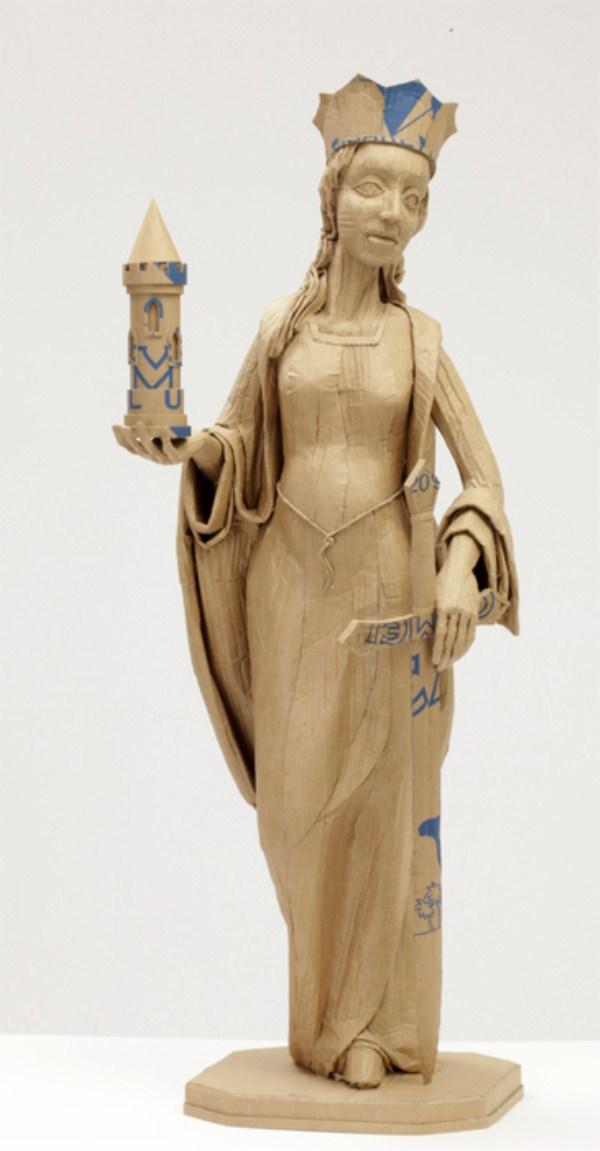 Cardboard Sculptures (19)