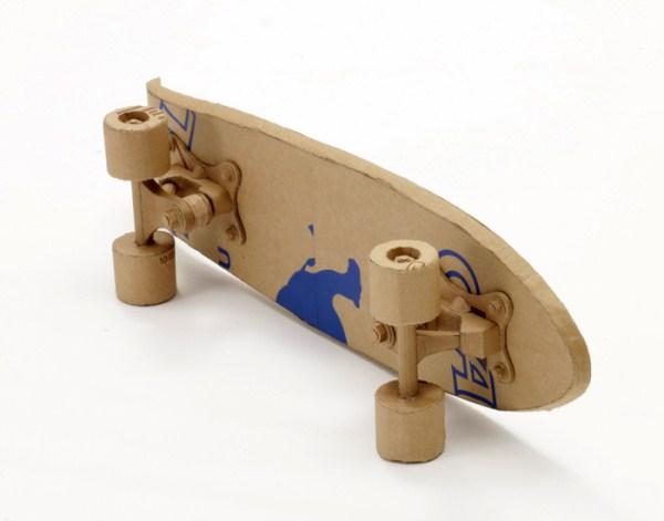 Cardboard Sculptures (2)