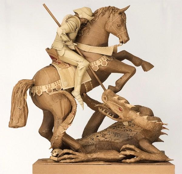 Cardboard Sculptures (22)