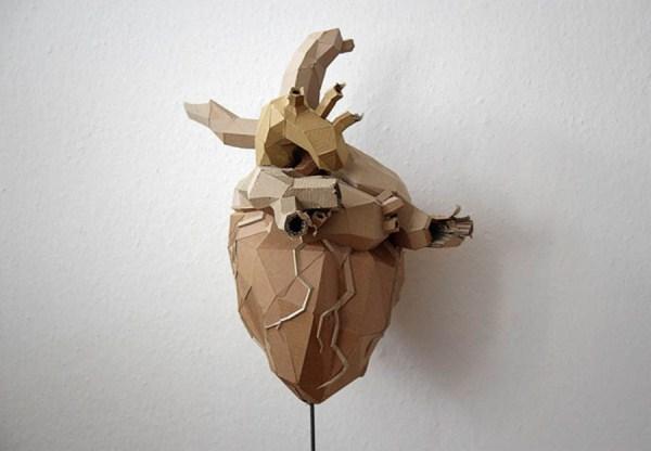 Cardboard Sculptures (23)