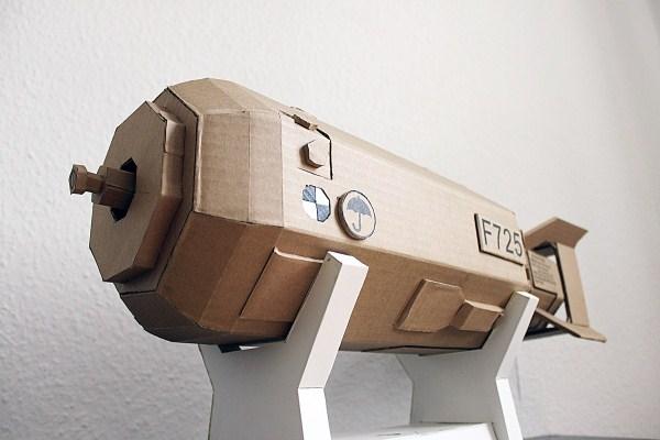Cardboard Sculptures (24)
