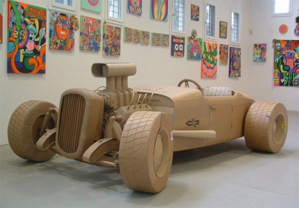 Cardboard Sculptures (3)