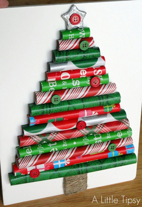 DIY-Wrapping-Paper-Christmas-Tree