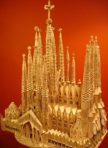 Masterpieces Created Using Only Toothpicks (42 photos) 11