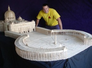Masterpieces Created Using Only Toothpicks (42 photos) 13