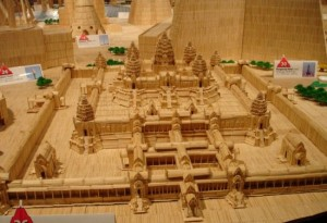 Masterpieces Created Using Only Toothpicks (42 photos) 37