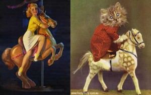 Cats Posing Like Pin Up Girls (24 photos) 17