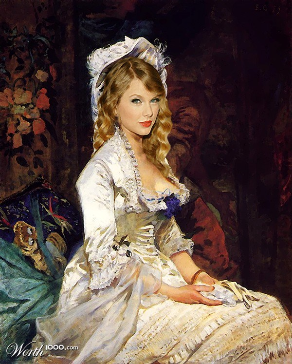 celebrities-photoshopped-into-classic-paintings (28)