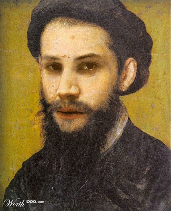 celebrities-photoshopped-into-classic-paintings (34)