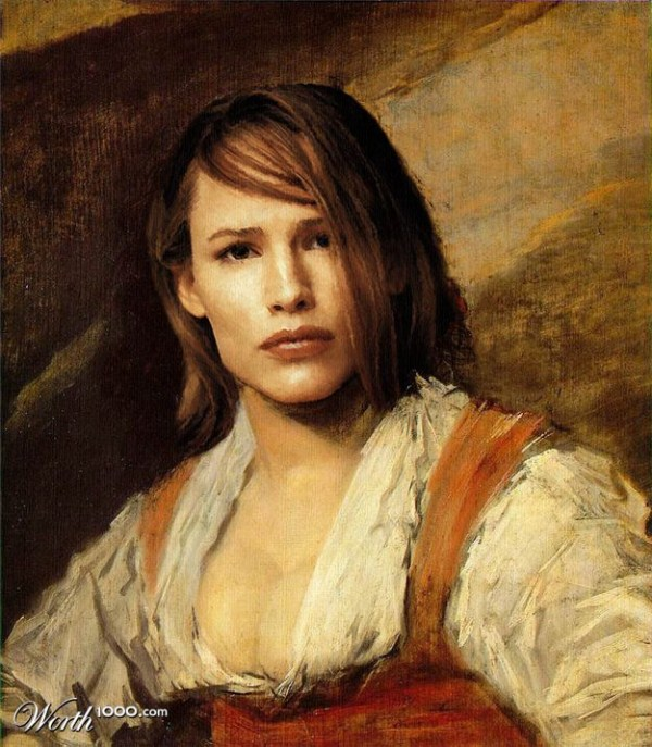 celebrities-photoshopped-into-classic-paintings (44)