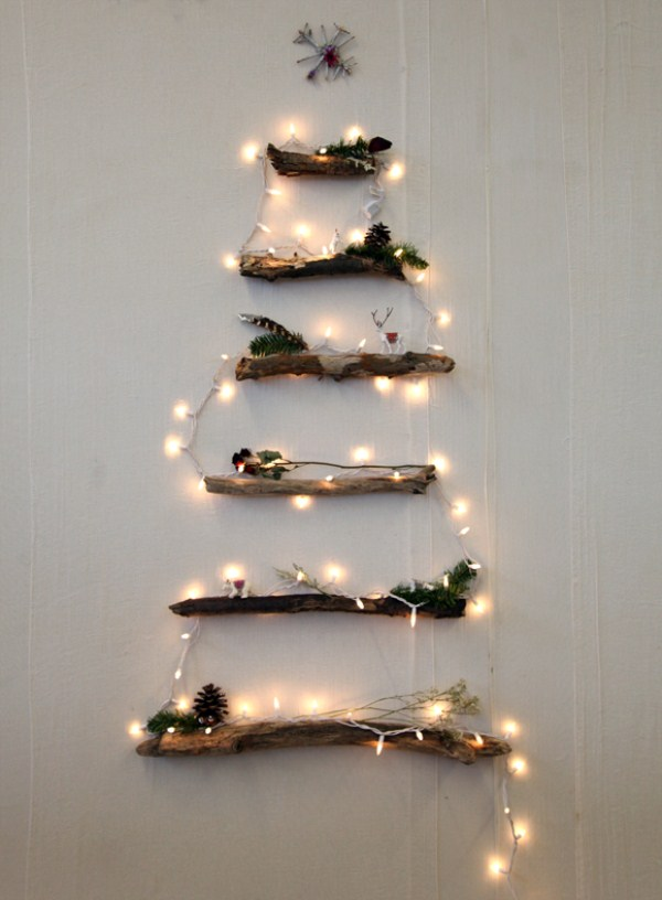 27 Creative DIY Christmas Tree Ideas (27 photos) 5