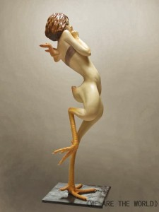 Grotesque Human And Animal Hybrid Sculptures (14 photos) 10