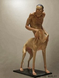 Grotesque Human And Animal Hybrid Sculptures (14 photos) 4