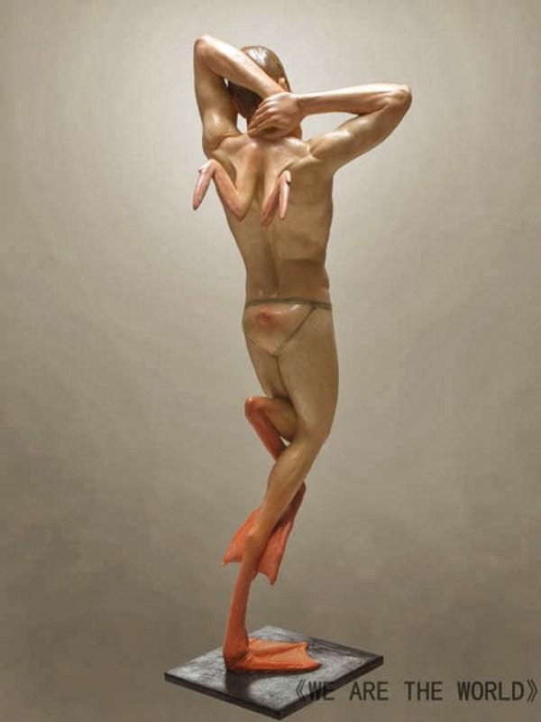 Grotesque Human And Animal Hybrid Sculptures 14 Photos