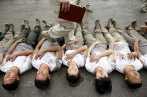 Hard Training of Female Bodyguards in China (11 photos) 5