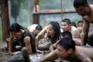Hard Training of Female Bodyguards in China (11 photos) 9
