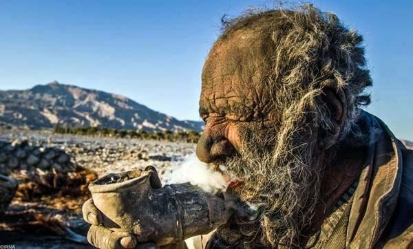 Amoo Hadji 3 This Man Hasnt Bathed in 60 years (12 photos)