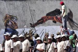 Anti-Cartel Vigilantes in Mexico (20 photos) 20