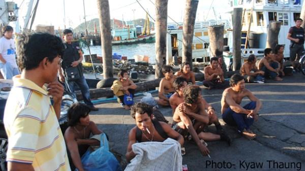 Burma-slaves