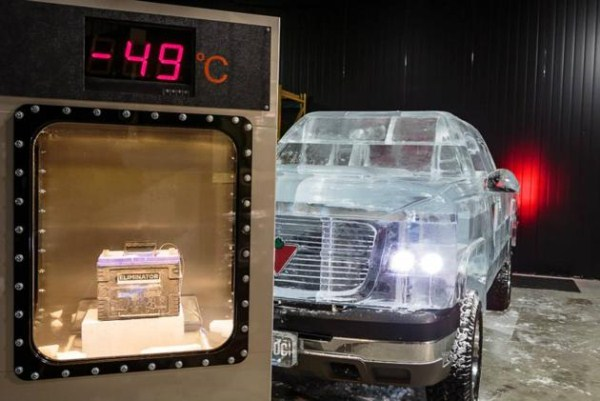 Chevy made of Ice 1 Chevy Pickup Truck Made Of Ice (17 photos)