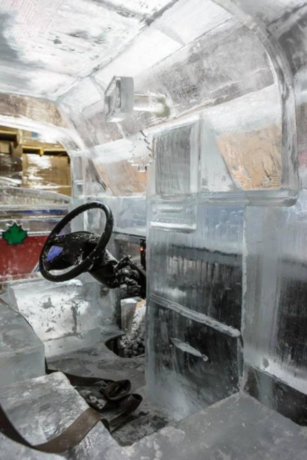 Chevy made of Ice 10 pictures