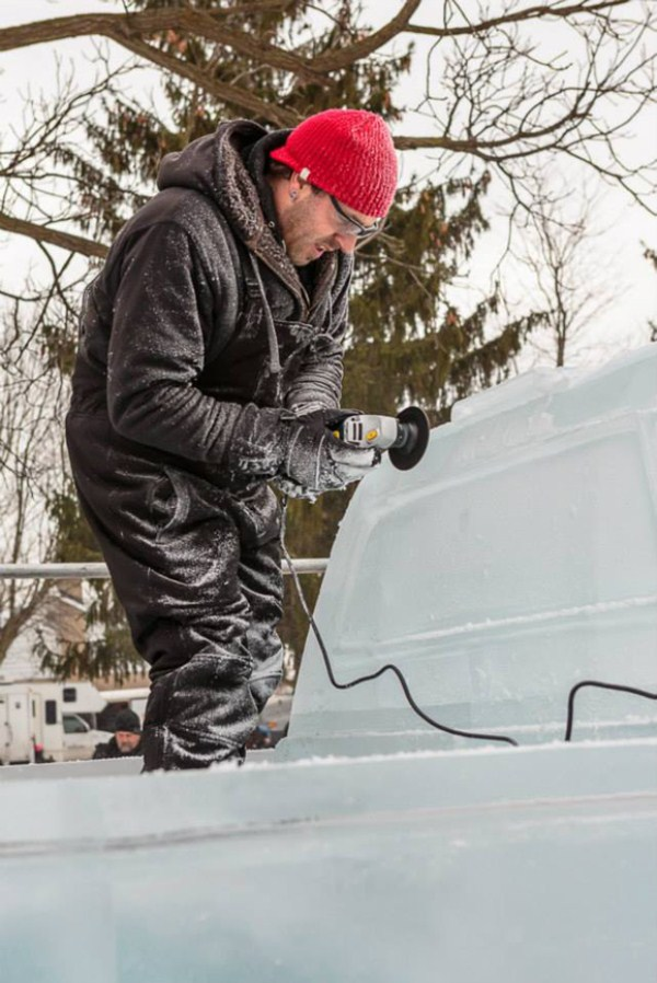 Chevy made of Ice 11 Chevy Pickup Truck Made Of Ice (17 photos)