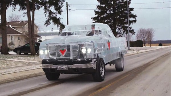 Chevy made of Ice 13 Chevy Pickup Truck Made Of Ice (17 photos)