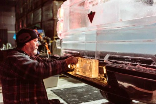 Chevy made of Ice 4 Chevy Pickup Truck Made Of Ice (17 photos)