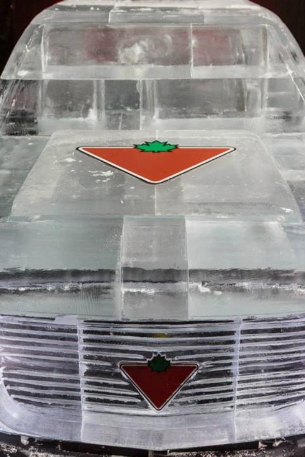 Chevy made of Ice 8