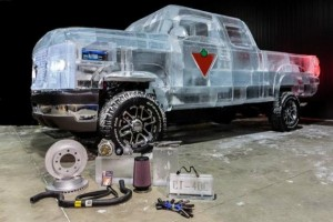 Chevy Pickup Truck Made Of Ice (17 photos) 9