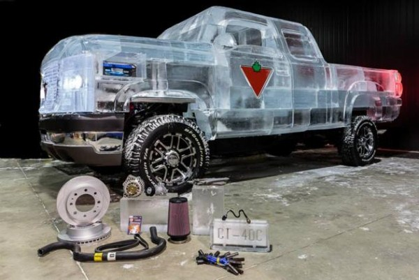 Chevy made of Ice 9 Chevy Pickup Truck Made Of Ice (17 photos)