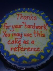 46 Brutally Honest Cakes (46 photos) 32