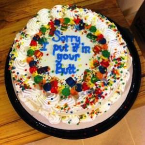 46 Brutally Honest Cakes (46 photos) 36