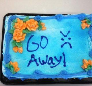 46 Brutally Honest Cakes (46 photos)