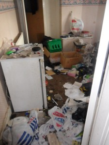 Inside an Extremely Dirty Apartment (21 photos) 12