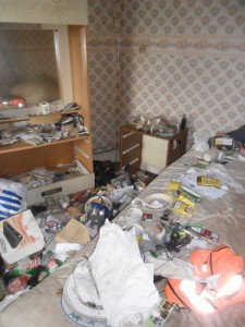 Inside an Extremely Dirty Apartment (21 photos) 2