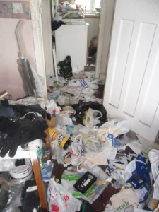 Inside an Extremely Dirty Apartment (21 photos) 6