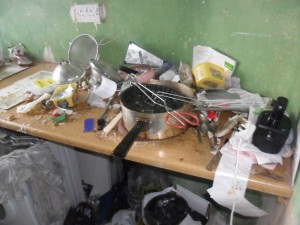 Inside an Extremely Dirty Apartment (21 photos) 8
