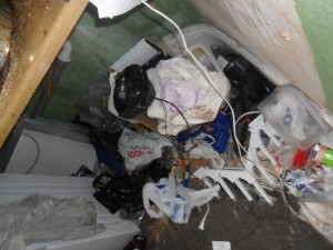 Inside an Extremely Dirty Apartment (21 photos) 9