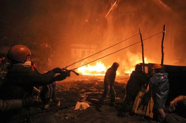 Kiev War Zone (55 photos) 44