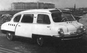 Concept Cars from the Soviet Era (20 photos) 4