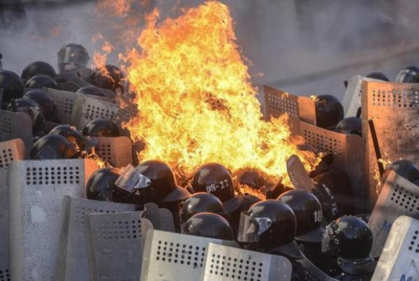 Dramatic Escalation of the Conflict in Kiev (44 photos) 21