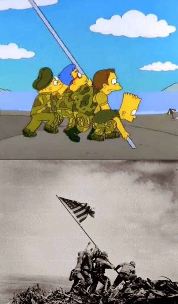 the-simpsons-parodies-of-famous-pictures (7)