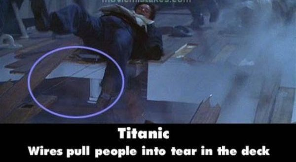 21 Titanic Movie Mistakes You May Have Missed (21 photos) 1